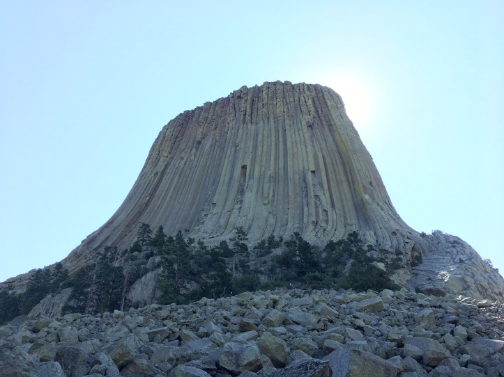 1e - Devils Tower (in Shade)