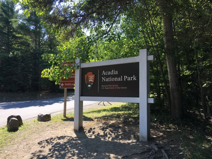 2 - Acadia Sign