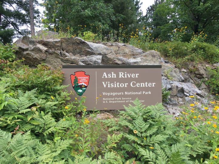 5 - Ash Vistor Center Sign