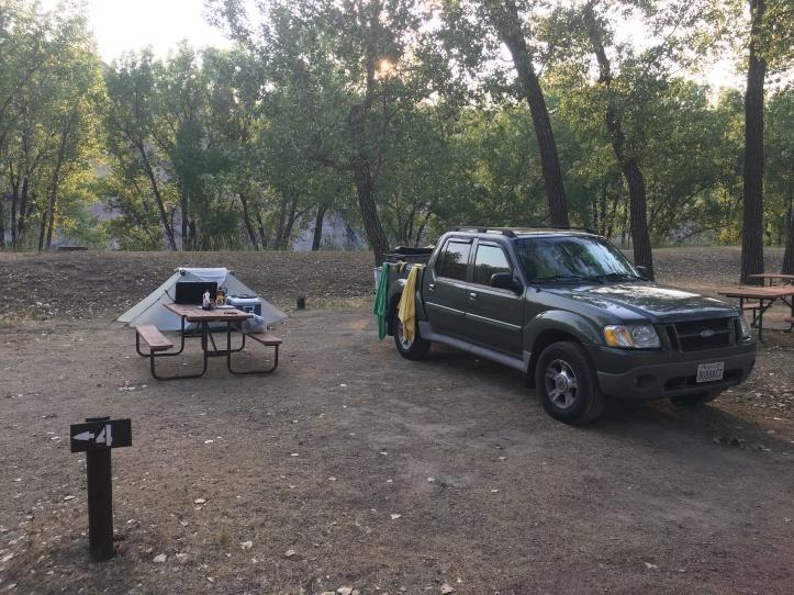 7 - Campsite Setup