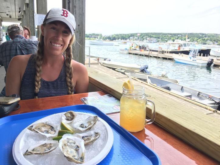 4c - Beal's Lobster Pier w Drink