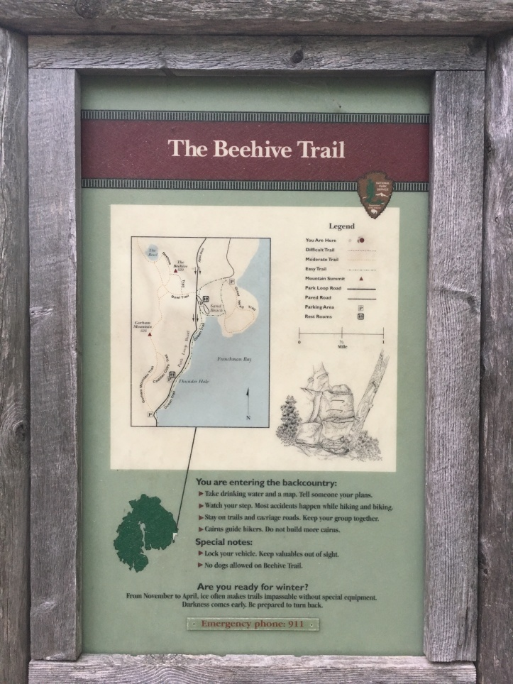 6a - Beehive Trail Map
